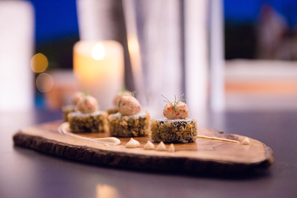 sushi bar sant francesc 29 - Una escapada romántica en una azotea de Palma