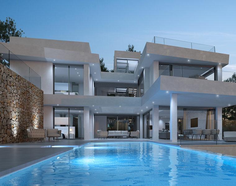 Ibizastyle luxury villa XXXVI-0